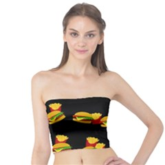Hamburgers and french fries pattern Tube Top