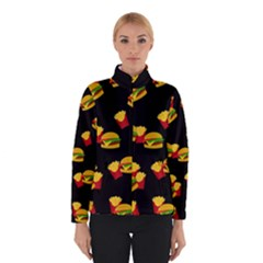 Hamburgers and french fries pattern Winterwear