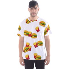 Hamburgers and french fries  Men s Sport Mesh Tee