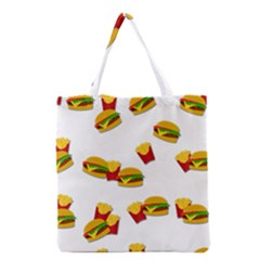 Hamburgers and french fries  Grocery Tote Bag