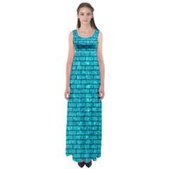 BRK1 BK-TQ MARBLE (R) Empire Waist Maxi Dress
