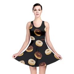 Donuts Reversible Skater Dress