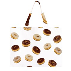 Donuts pattern Large Tote Bag