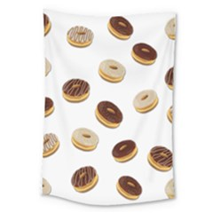 Donuts Pattern Large Tapestry