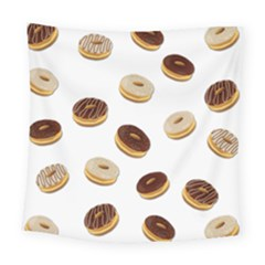 Donuts Pattern Square Tapestry (large)