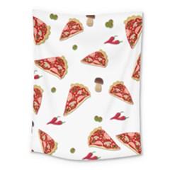Pizza Pattern Medium Tapestry