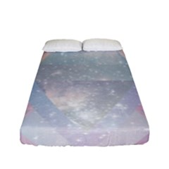 Pastel Crystal Fitted Sheet (full/ Double Size)