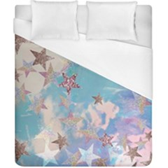 Pastel Stars Duvet Cover (california King Size)