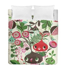 Cute Cartoon Duvet Cover Double Side (full/ Double Size)