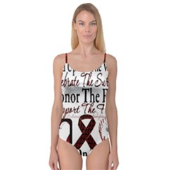 Sickle Cell is ME Camisole Leotard