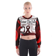 Sickle Cell is ME Women s Cropped Sweatshirt