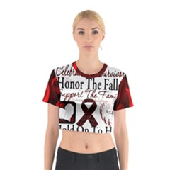 Sickle Cell is ME Cotton Crop Top