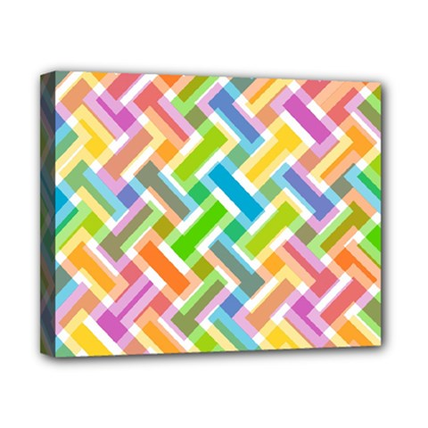 Abstract Pattern Colorful Wallpaper Canvas 10  X 8