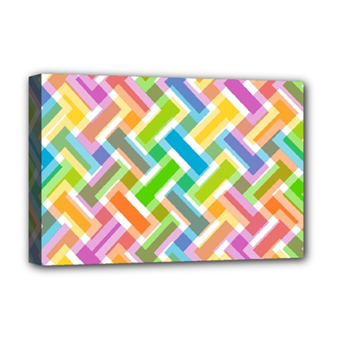 Abstract Pattern Colorful Wallpaper Deluxe Canvas 18  X 12