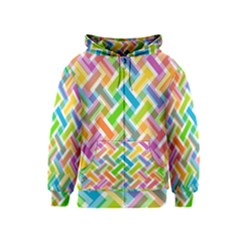 Abstract Pattern Colorful Wallpaper Kids  Zipper Hoodie