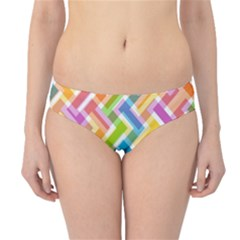 Abstract Pattern Colorful Wallpaper Hipster Bikini Bottoms