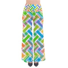Abstract Pattern Colorful Wallpaper Pants