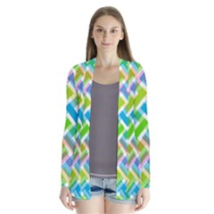 Abstract Pattern Colorful Wallpaper Cardigans