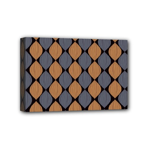 Abstract Seamless Pattern Mini Canvas 6  X 4
