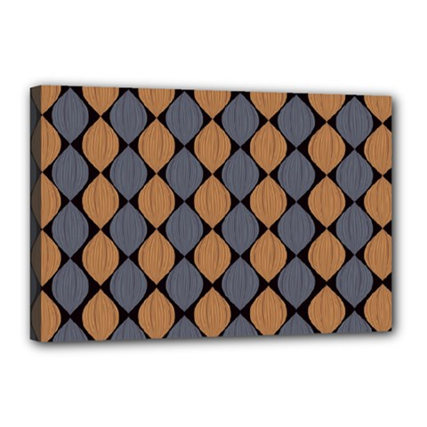 Abstract Seamless Pattern Canvas 18  X 12