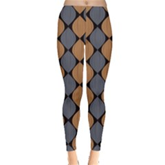 Abstract Seamless Pattern Leggings