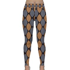 Abstract Seamless Pattern Classic Yoga Leggings