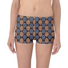 Abstract Seamless Pattern Boyleg Bikini Bottoms