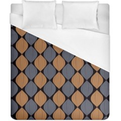 Abstract Seamless Pattern Duvet Cover (california King Size)
