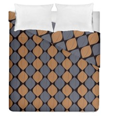 Abstract Seamless Pattern Duvet Cover Double Side (queen Size)