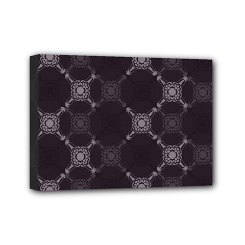Abstract Seamless Pattern Mini Canvas 7  X 5