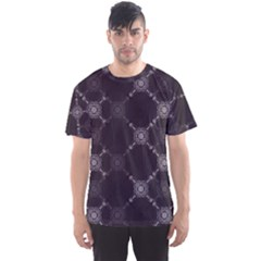 Abstract Seamless Pattern Men s Sport Mesh Tee
