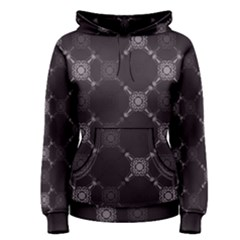 Abstract Seamless Pattern Women s Pullover Hoodie
