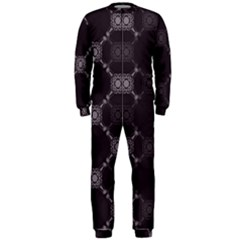 Abstract Seamless Pattern OnePiece Jumpsuit (Men)