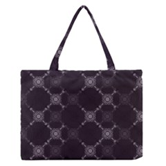Abstract Seamless Pattern Medium Zipper Tote Bag