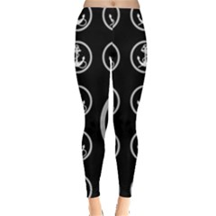 Anchor Pattern Leggings