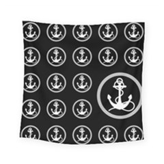 Anchor Pattern Square Tapestry (small)
