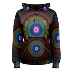Artskop Kaleidoscope Pattern Ornamen Mantra Women s Pullover Hoodie