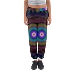 Artskop Kaleidoscope Pattern Ornamen Mantra Women s Jogger Sweatpants