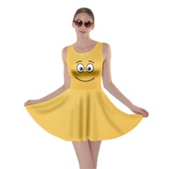 Smiling Face with Open Eyes Skater Dress