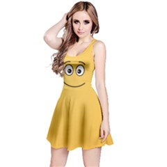 Smiling Face with Open Eyes Reversible Sleeveless Dress
