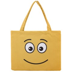 Smiling Face with Open Eyes Mini Tote Bag