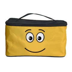 Smiling Face with Open Eyes Cosmetic Storage Case