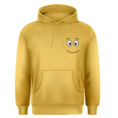 Smiling Face with Open Eyes Men s Pullover Hoodie