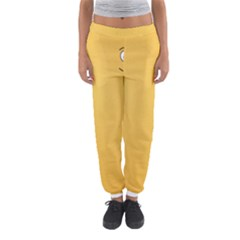 Smiling Face with Open Eyes Women s Jogger Sweatpants