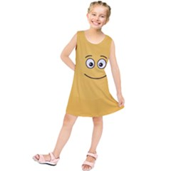 Smiling Face with Open Eyes Kids  Tunic Dress