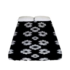 Dark Floral Fitted Sheet (Full/ Double Size)