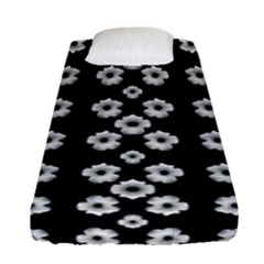 Dark Floral Fitted Sheet (Single Size)