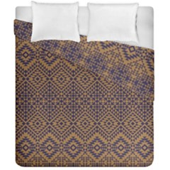 Aztec Pattern Duvet Cover Double Side (california King Size)