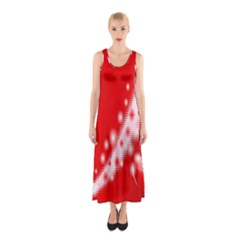 Background Banner Congratulation Sleeveless Maxi Dress
