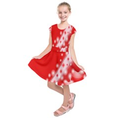 Background Banner Congratulation Kids  Short Sleeve Dress